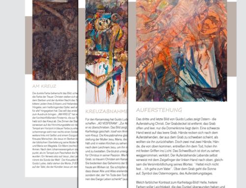 """Religiöse Bilderkunst """"Triptychon"""""""